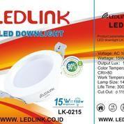 LEDLINK LED DOWNLIGHT 15 Watt 6000K