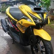 Yamaha Aerox 155CC VVA Tahun 2017 - Yellow Limited Edition
