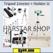 Tripod Panjang 1 Meter + Holder U
