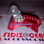 Pemundur Shock Matic Mio Red / Silver