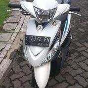 Mio J Sporty 2013 Putih Plat S