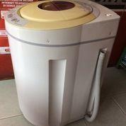 Mesin Cuci Digital SHARP 1 Tabung ECO DRUM ES-N70EY-P - BEKAS