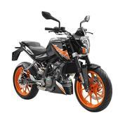 KTM Duke 200 Sepeda Motor - Black( KREEDIT TANPA DP DAN BUNGA 0% )