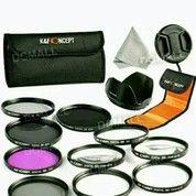 GoPro Hero 5 Filter Kit 52mm, K&F Concept- DLSR 10 Pcs