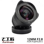 Lensa 7ARTISANS 12MM F2.8 FOR Mirrorless Fujifilm X Mount Series
