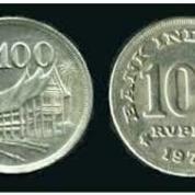 Koin 100 Rupiah Tahun 70an