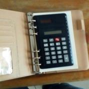 Set Buku Agenda Dan Kalkulator