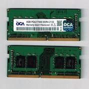 SODIMM 4GB DDR4 PC4-1700 2133 OCA RAM MEMORY LAPTOP