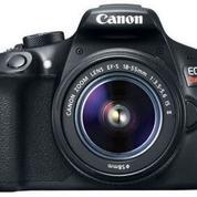 Kreedit Tanpa Dp Dan Bunga 0% Canon EOS 1300D (Rebel T6/Kiss X80) Kit