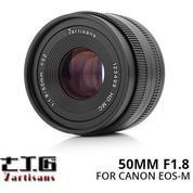 Lensa 7ARTISANS 50MM F1.8 FOR Mirrorless CANON EOS-M