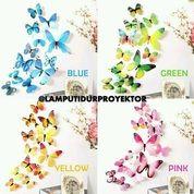 Hiasan Dinding Kupu-Kupu 3D Butterfly