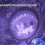 Lampu Tidur Proyektor Star Master Mickey Minnie (Musik + Berputar)