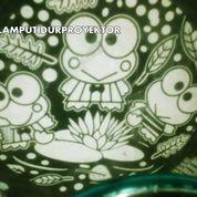 Lampu Tidur Proyektor Star Master Keropi (Musik + Berputar)