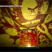 Lampu Tidur Proyektor Star Master Angry Birds (Musik + Berputar)