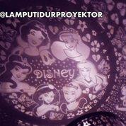 Lampu Tidur Proyektor Star Master Princess Disney (Musik + Berputar)