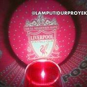 Lampu Tidur Proyektor Star Master Club Bola Liverpool (Musik + Berputar)