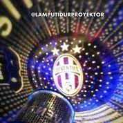 Lampu Tidur Proyektor Star Master Club Bola Juventus (Musik + Berputar)