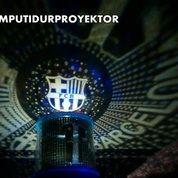 Lampu Tidur Proyektor Star Master Club Bola Barca Barcelona (Musik + Berputar)
