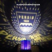 Lampu Tidur Proyektor Club Bola Persib (Musik + Berputar)