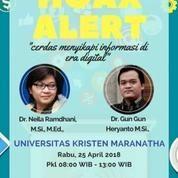 "Tiket Seminar Nasional ""Hoax"""
