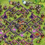 Akun Clash Of Clans Th 10 Th 9 Dan Th 7 Serta Klen Level 5