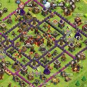 Akun Clash Of Clans Th 10 Th 9 Th 7 Serta Klen Level 5