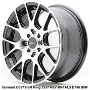 Veleg Bournout Ring 15 Hsr Wheel Berkualitas