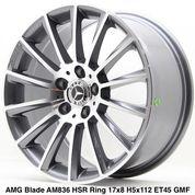 AMG BLADE AM836 HSR R17X8 H5X112 ET45 GMF