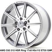 AMG C63 212 HSR R17X8 H5X112 ET35 GMF