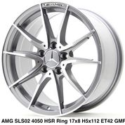 AMG SLS02 4050 HSR R17X8 H5X112 ET42 GMF