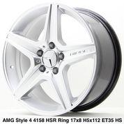 AMG STYLE 4 4158 HSR R17X8 H5X112 ET35 HS