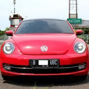 VW BEETLE 1.2CC Automatic Merah 2013 Mobil ANTIK JARANG PAKAI KM BARU 12RBAN