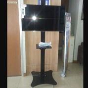 Bracket Tv Standing Custom Kupu Kupu (Sekuat Gajah)
