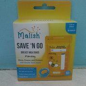 Malish Kantong ASI 100ml Yellow