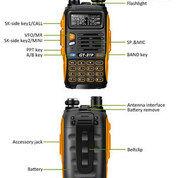 Handy Talky Baofeng GT-3TP Dualband Waterproof Harga Terjangkau