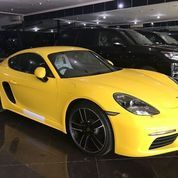 Porsche New Cayman 718 PDK 2018