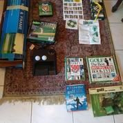 Perlengkapan Latihan Golf : Practice Net / Putting Partner / Swingyde / DVD / Buku
