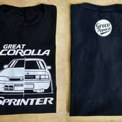 Kaos Great Corolla || Kode 18