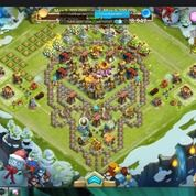 Akun Castle Clash Fast Selling 750RB NEGO