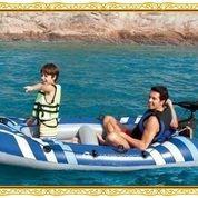 Perahu + Pompa ( Perahu Force X2 Tipe 65060 Paling Bagus Dan Murah
