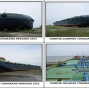 1 Set Tug Boat + Oil Barge (Tongkang Minyak) Tahun 2012