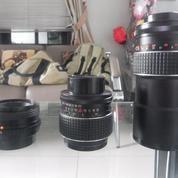 Lensa Kamera Manual Wide, Standar Primary, Zoom