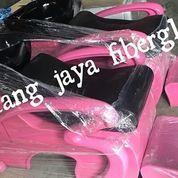 Kursi Keramas Salon Pink Rangka Washbak Hitam