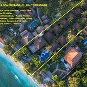 Resort & Spa [Bintang 4] Tepi Pantai Gili Trawangan