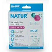 Natur Breast Milk Storage Bags - Kantung Asi 120ml