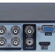 Zestron ZDR384C Video Recorder 4-Channel H264 DVR