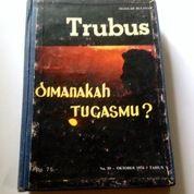 Bundel Majalah TRUBUS Jadul Terbitan Tahun 1974