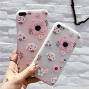 Flower Case Silicone For Iphone 7 Plus