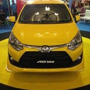 Toyota Agya TRD MT Yellow