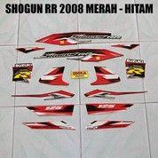 Striping Shogun RR 2008 Merah - Hitam